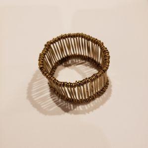 Unique brass bracelet